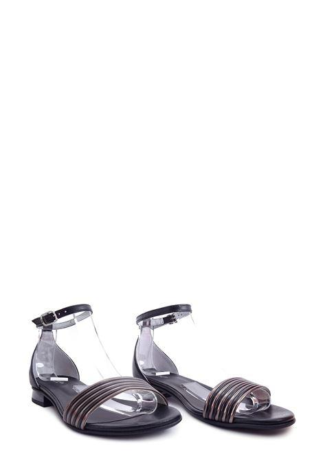 NERO GIARDINI CITY | Flat Sandals | E012500D100