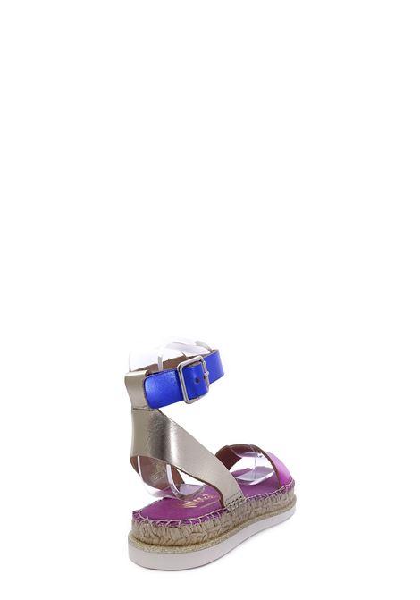 VIDORRETA | Flat Sandals | 47300COMBI FUCSIA