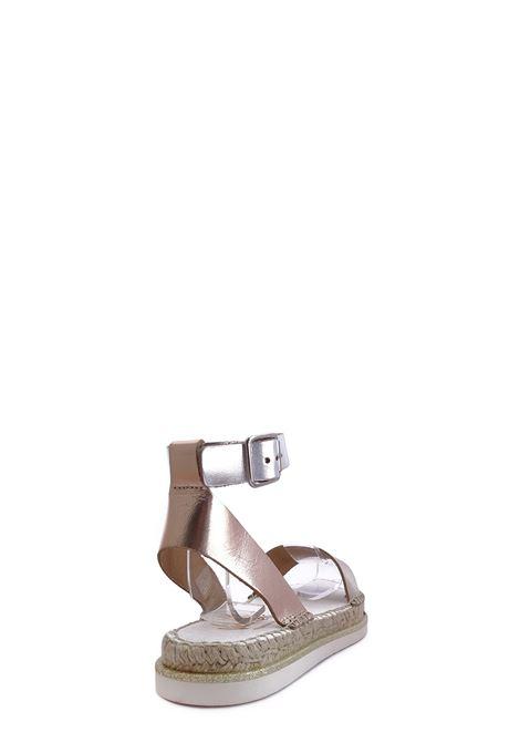 VIDORRETA | Flat Sandals | 47300COMBI ORO
