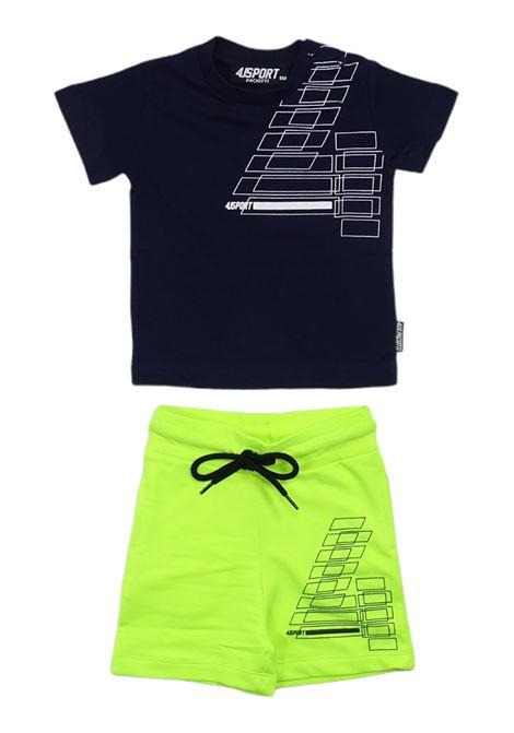 Tuta sportsweara 4US - CESARE PACIOTTI | Completi | COMP1108B850