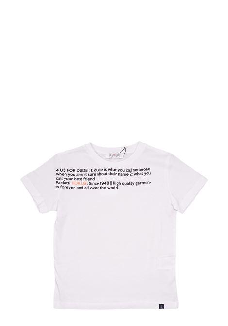 4US - CESARE PACIOTTI | T-shirt | TSP1139J100