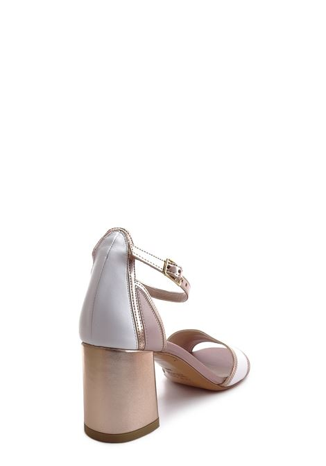 ALBANO | High Heel Sandals | 4147BIANCO/RAME