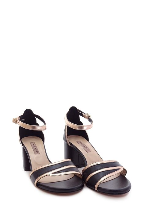 ALBANO | High Heel Sandals | 4147NERO/RAME