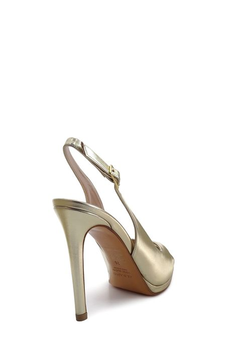 ALBANO | High Heel Sandals | 4205PLATINO