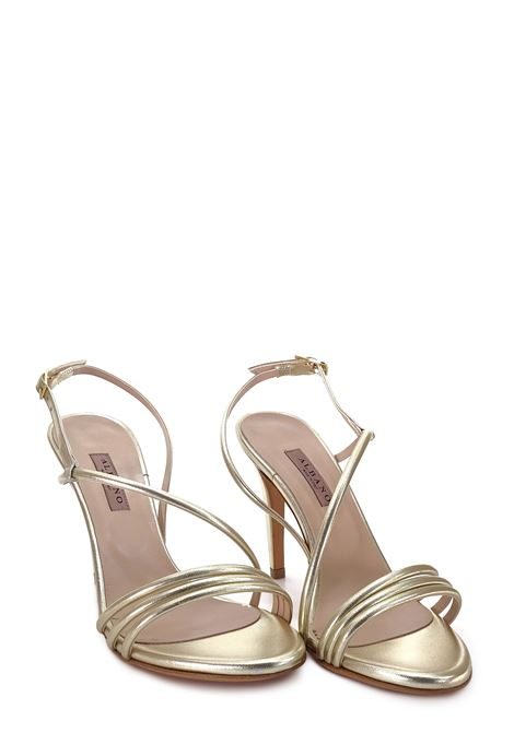 ALBANO | High Heel Sandals | 8075PLATINO