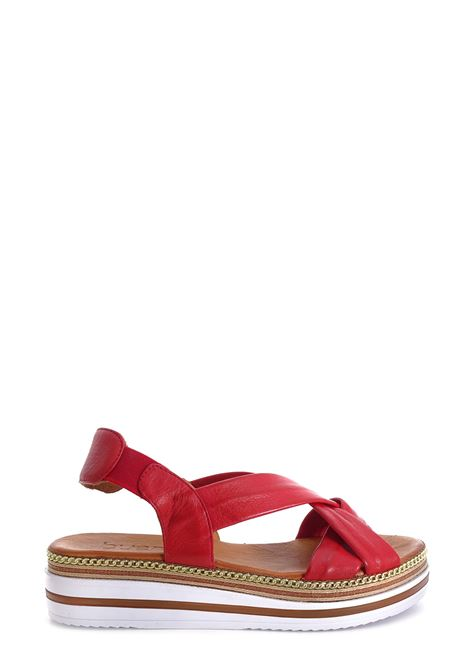 BUENO | Flat Sandals | 21WQ1609ROSSO
