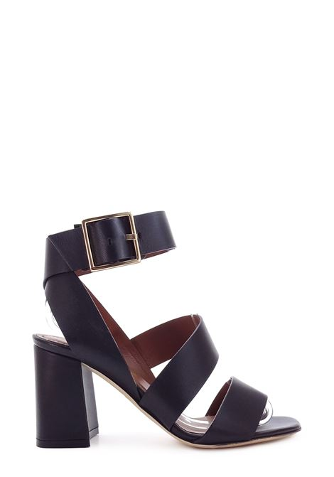 EVALUNA | High Heel Sandals | 5816NERO