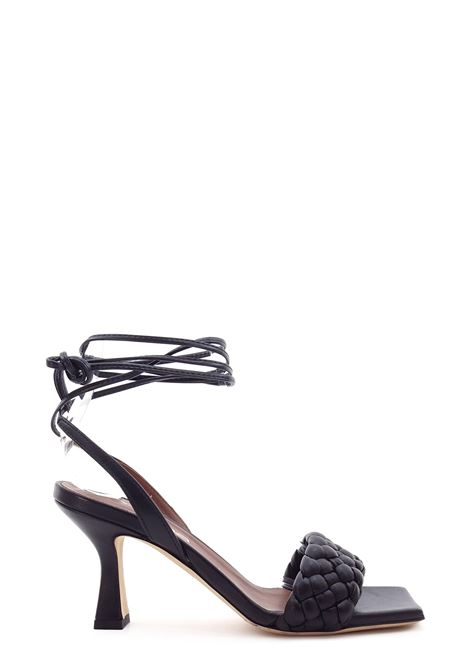 EVALUNA | High Heel Sandals | 7102NERO