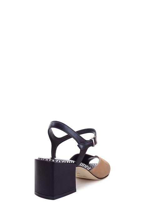 Sandali alti GIANMARCO SORELLI | Sandali alti | 2076ANTILOPE/NERO