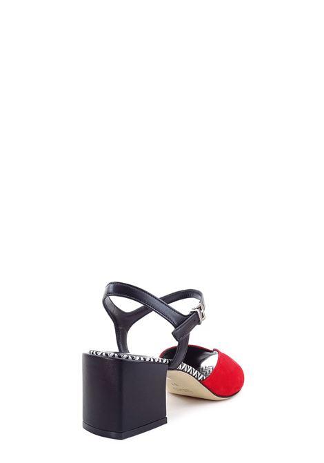 Sandali alti GIANMARCO SORELLI | Sandali alti | 2076ROSSO/NERO