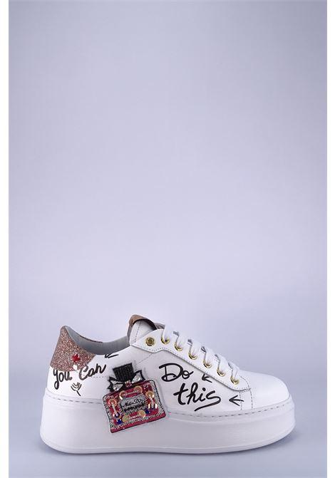 GIO+ | Sneakers | G724ABIANCO/PROFUMO