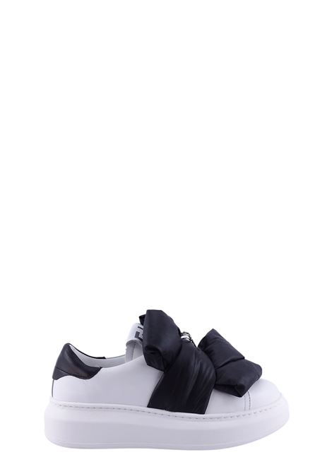 GIO+ | Sneakers | G934BBIANCO/FIOCCO NERO