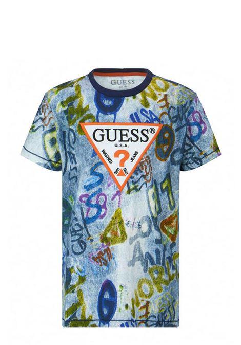 GUESS | T-shirt | L1RI07 K8HM0P882