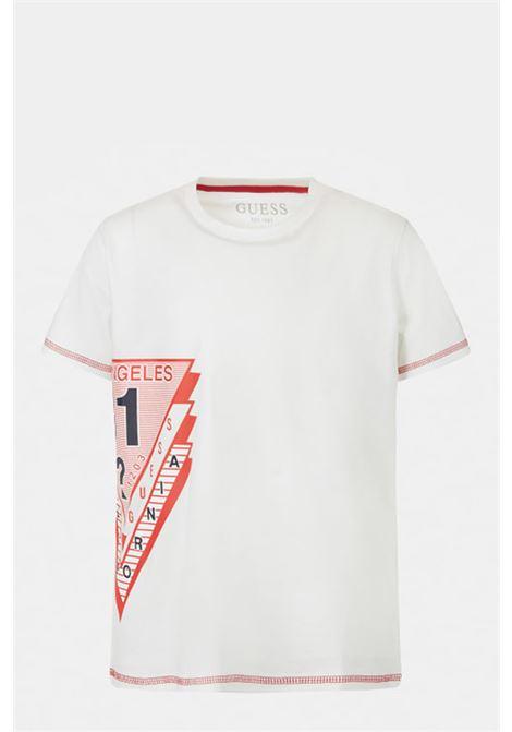 GUESS | T-shirt | L1RI18 K8HM0TWHT