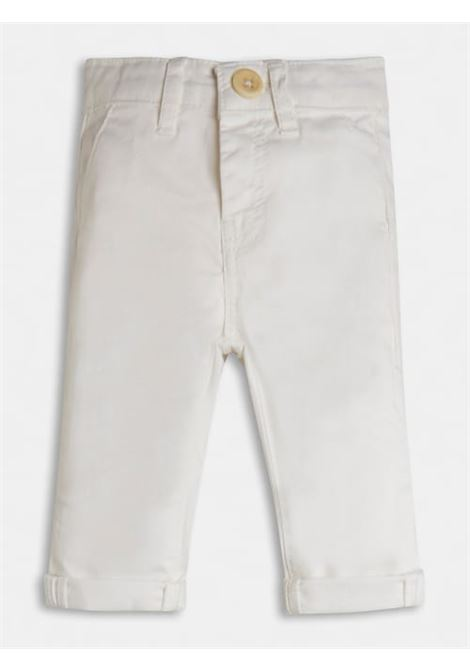 GUESS | Trousers | N1RB06 WD3T0TWHT