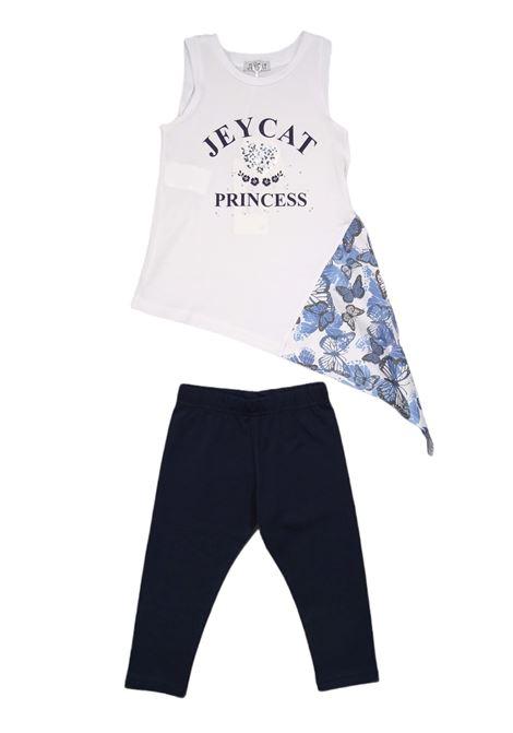 JEYCAT | Outfit | JCBMX7625WHITE/BLU