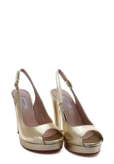 L'AMOUR | High Heel Sandals | 259PLATINO