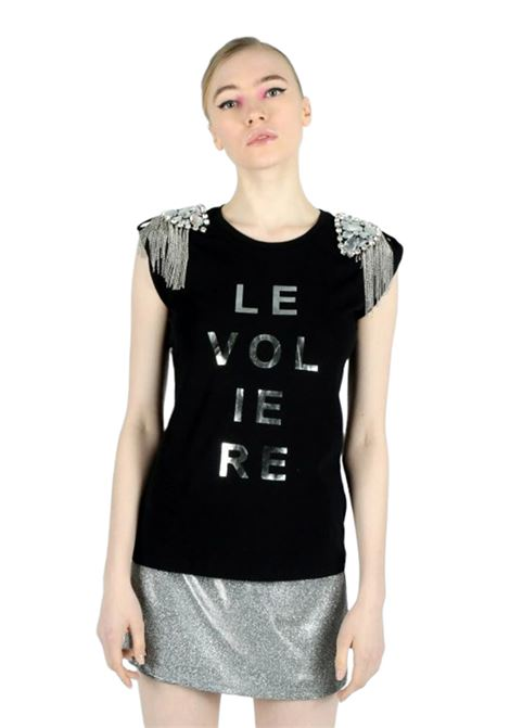 LE VOLIERE | T-shirt | T001JBNERO