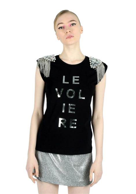 T-shirt LE VOLIERE | T-shirts | T001JBNERO