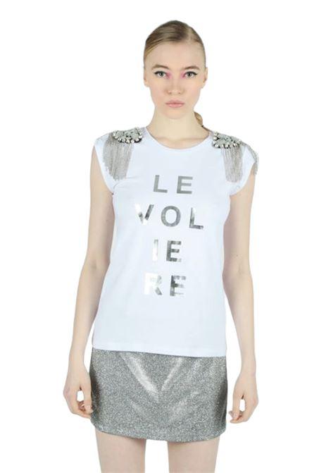 T-shirt LE VOLIERE | T-shirts | T001JWBIANCO