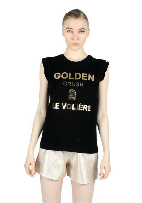 T-shirt LE VOLIERE | T-shirts | T058BNERO