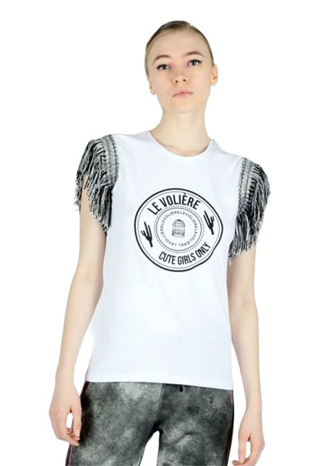 T-shirt LE VOLIERE | T-shirts | T120JWBIANCO