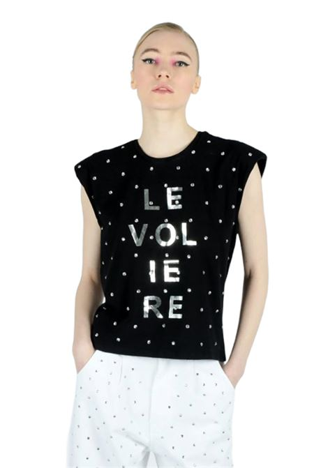 LE VOLIERE | T-shirt | T734BSNERO