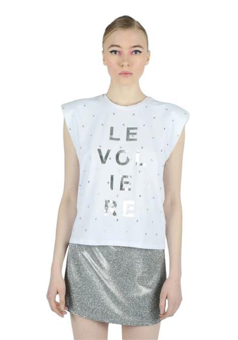 LE VOLIERE | T-shirt | T734WSBIANCO