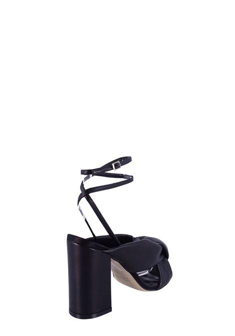 LELLA BALDI | High Heel Sandals | 223NERO