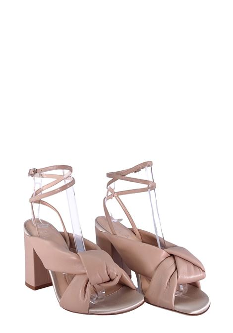 LELLA BALDI | High Heel Sandals | 223NUDE