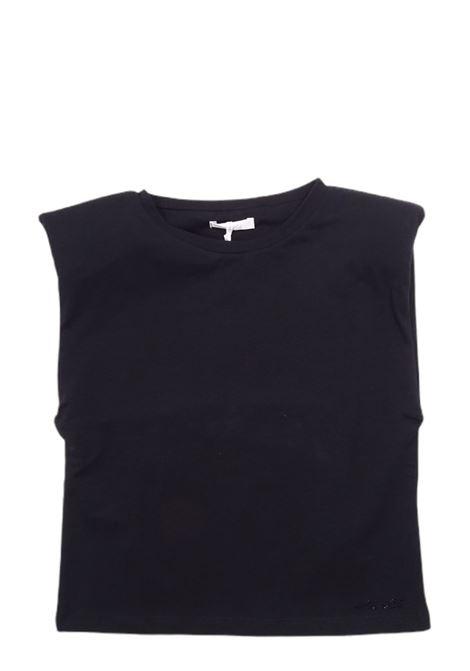 LU LU | T-shirt | LL0001NERO