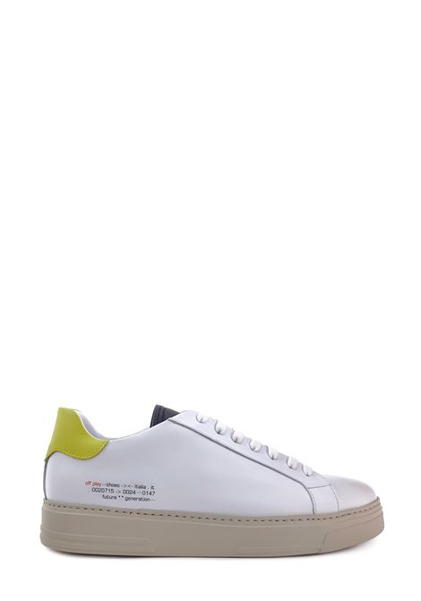 OFFPLAY | Sneakers | CRS1-UWHITE/BLACK/YELLOW