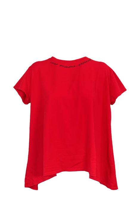 PEPEROSA | T-shirt | A21K16018ROSSO