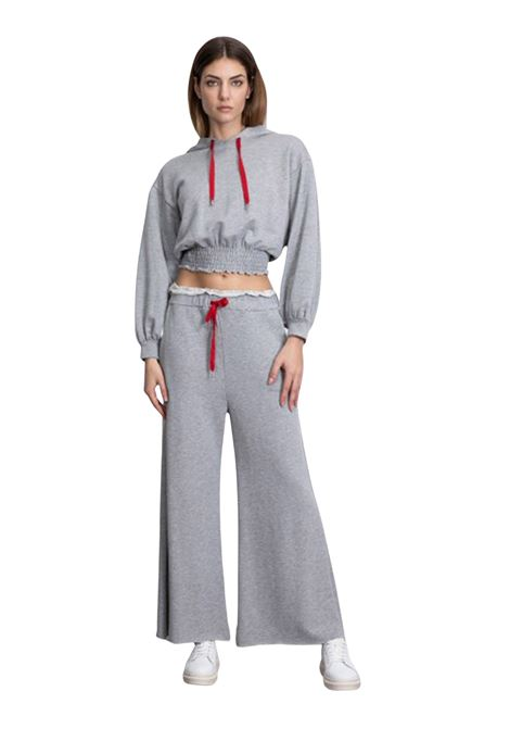Pantalone felpa PEPEROSA | Pantaloni felpa | P21V14076GRIGIO