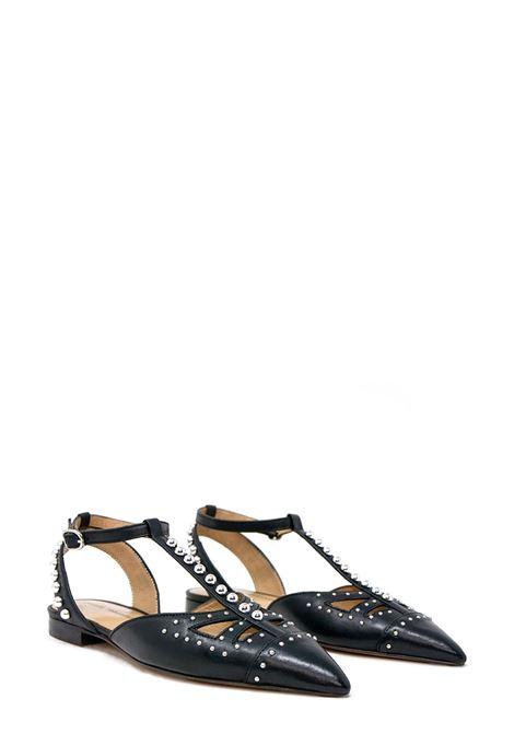 POESIE VENEZIANE | Flat Sandals | FUR2513NERO