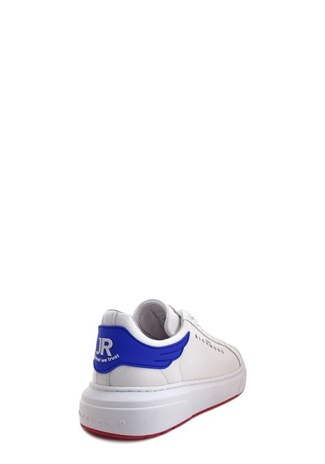 Sneakers RICHMOND | Sneakers | 10100BIANCO/BLUETTE