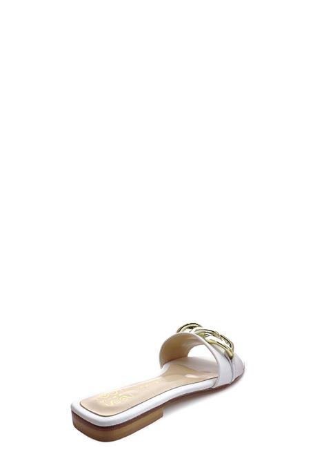 SIANOVIAROMA | Flat Sandals | 001BIANCO