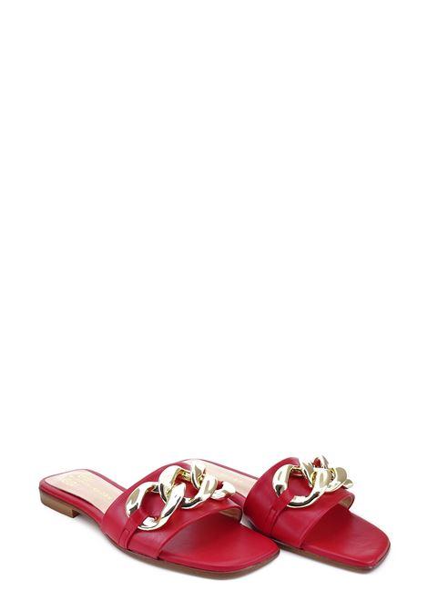 SIANOVIAROMA | Flat Sandals | 001CORALLO