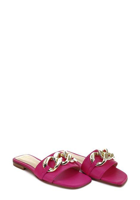 SIANOVIAROMA | Flat Sandals | 001FUXIA