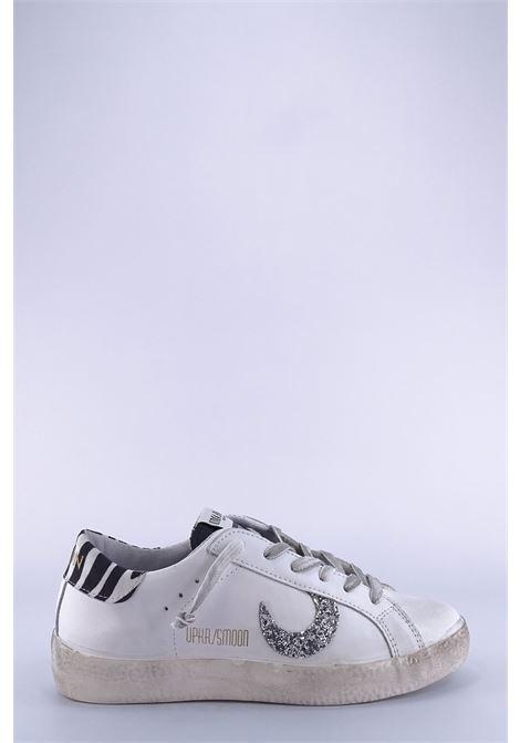 UMA PARKER | Sneakers | SUPER MOONBIANCO/ZEBRA