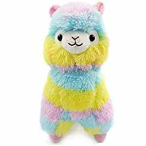 Alpaca Colorful Plush
