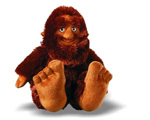 "10"" Bigfoot Sasquatch Plush Toy"
