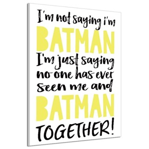 Funny Batman Canvas