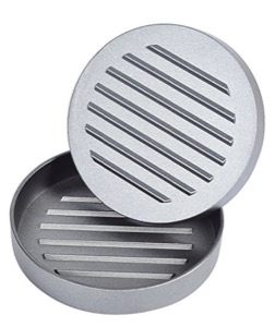 Non Stick Aluminum Hamburger Press Patty Mold