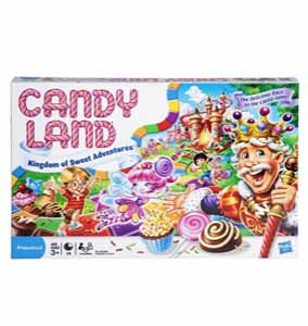 Candy Land The World of Sweets Board Game