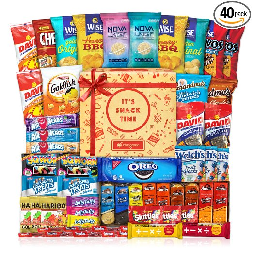 Cookies & Chips Care Pack - 40 Count