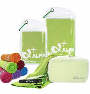 Alfamo Cooling Towel (color may vary)