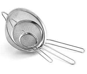 Cuisinart 3 Strainers Set
