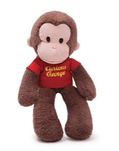 "15"" Curious George"