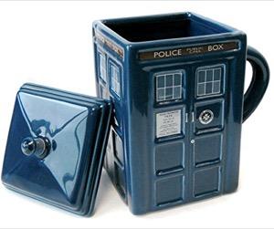 Dr Who Tardis Mug